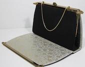 Vintage 2 Way interchangable Purse, use as black or silver
