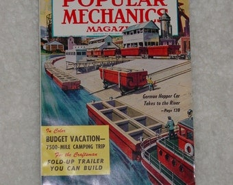 Vintage May 1958 Popular Science and Mechanics Magazine