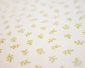 Sophie by Chez Moi, Leaf in Olive (Moda) Quilting Cotton Fabric