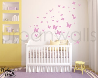 Vinyl Wall Sticker Decal Art - Butterflies