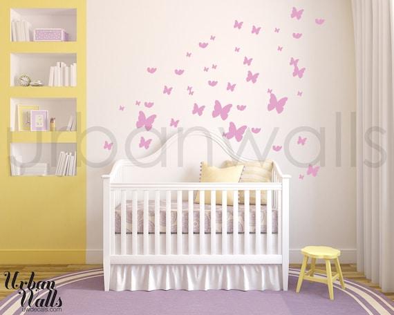 Vinyl Wall Sticker Decal Art - Butterflies