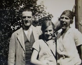 Vintage 1920's Family Photograph