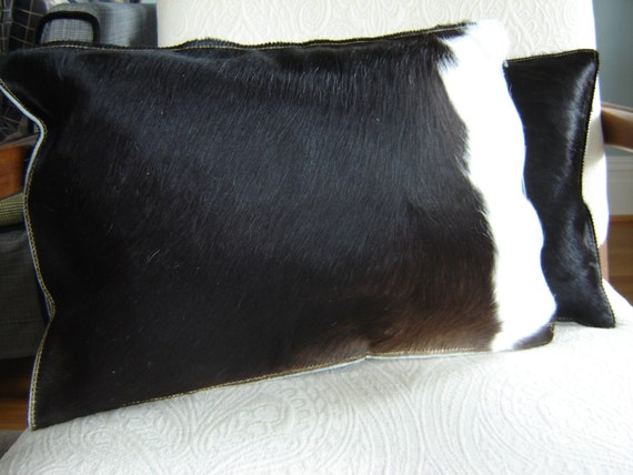 Argentine Hair On Cow Hide Pillow Cover 19 x 13