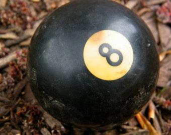 Eight Ball / Billiard Ball / Pool Ball / Bakelite