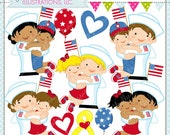 Navy Homecoming Cute Digital Clipart for Commercial or Personal Use, NAVY Military Reunion, HUG, Sailor Clipart
