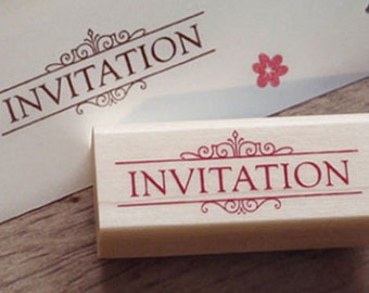 Invitation Stamp (2.4 x 1in)