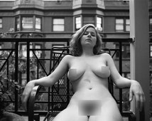 Fine Art Nude Photographic Print: Hotel Balcany