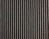 Kim's order: Striped Black Jersey   2 Yards Org. Cotton/ Bamboo