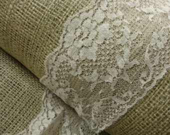 "10 yards 3"" width ( 76 mm ) tan beige natural roses scalloped lace trim"