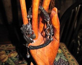 Mourning Flower Bracelet