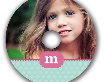 INSTANT DOWNLOAD -  Cd/DVD Label Photoshop template - 0532