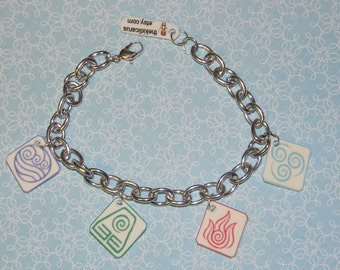 Avatar The Last Airbender / Legend of Korra Charm Bracelet
