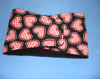 Valentine's Dog Diaper / Male Dog Belly Band