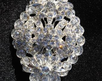Sale Rhinestone Brooch - Crystal Brooch - Vintage Style Brooch - Perfect For Bridal Wedding Bouquets - Bridal Sash