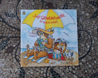 Just Grandma and Me by Mercer Mayer  - Golden Book 1983 - Like New