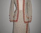 Adolfo Saks Fifth Avenue Knit Suit