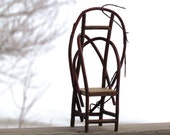 MiniatureTwig Chair Bentwood Whimsical Eco Friendly Decor - SNLCreations