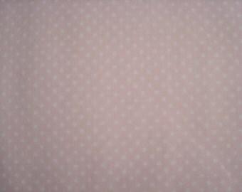 Light Pink tiny dot Fabric by Robert Kaufman - 1 yard
