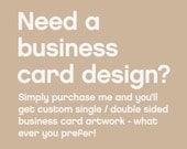Professional Business Card Design by Fossdesign