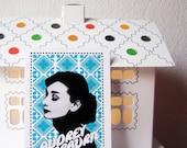 Audrey Hepburn vector digital print