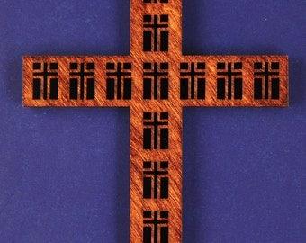 Large Disciples Wood Cross