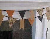 Vintage Key Banner Garland Party Decor