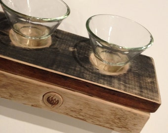 Ready to Ship - Candle Holder from the Vineyard