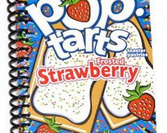 Pop Tarts spiral bound notebook