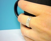 Sterling silver stacking rings set of 6 skinny Sterling silver ring sterling stacking rings sterling stack rings stackable rings