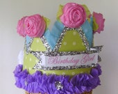 Birthday part Hat, birthday party crown,  customize