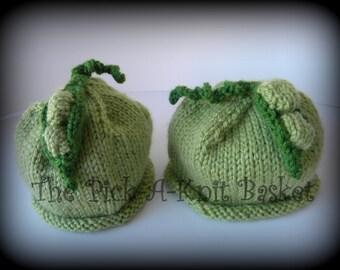 Sweet Pea Hat Pattern (PDF)