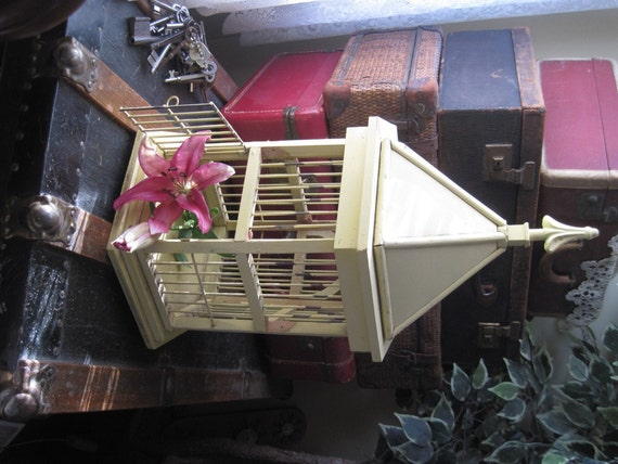 Vintage Bird Cage For Home Decor Planter Anything You Can