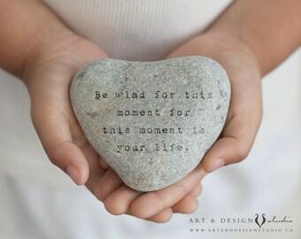 Gratitude Quote, Gratitude Stone, Grateful, Appreciation, Family Print, Inspirational Art, Family Quote, Happy Art, Positive Print, Zen