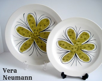 Vera Neumann Plate, Calypso, Dinner, Island Worcester