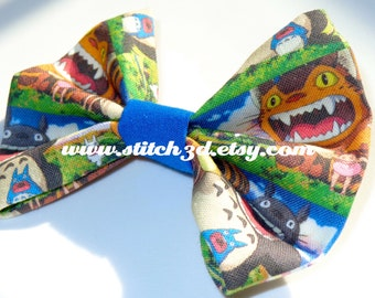 My Neighbor Totoro no 2 Hair Bow or bow tie
