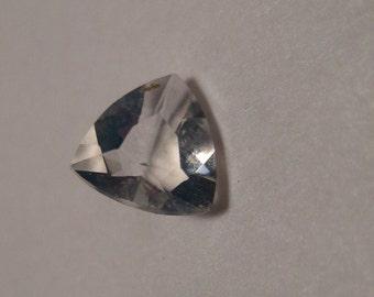 Faceted Oregon Opal ............   trilliant cut      .....   5 x 5  x  3  mm .............       a904
