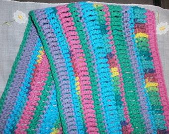 Crochet Dish Towel - Multi-Color