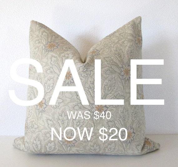 Light Green Decorative Pillow : SALE Decorative pillow cover 20x20 Soft light Green