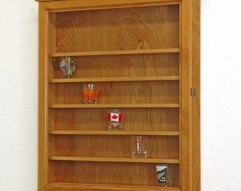 Shot Glass Display Case Shelves