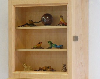 Curio Display Wall Cabinet