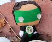 SALE 3 Inch Mini Green Lantern Plush