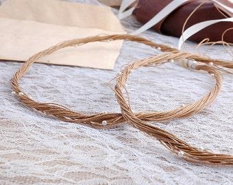 STEFANA Wedding Crowns- Bridal Crowns for Christian Orthodox weddings - Stefana IOLI- One Pair