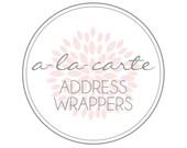 A-LA-CARTE - Address Label -Petite Party Studio