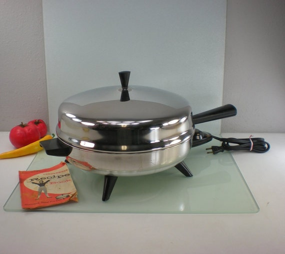 Farberware 12 Fry Pan Electric Skillet Stainless
