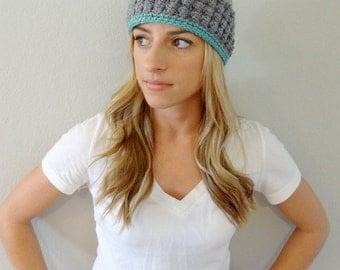 Hand crochet ear warmer, head wrap, head band