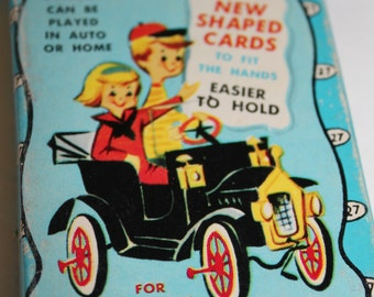 Vintage Highway Travel Card Game