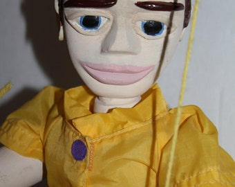 Sale Wooden Marionette Puppet - Charming George