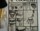 Vintage Crochet Pattern 007 PDF Choker Necklaces from WonkyZebra