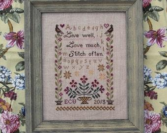 Verses for Stitchers - Stitch Often