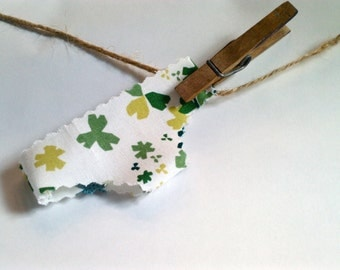 St Patricks Day Good Luck Charm Leprechaun Knickers green shamrock undies, underwear 4 leaf clover